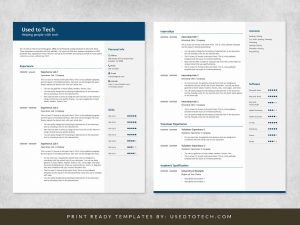 Best CV Format in Word