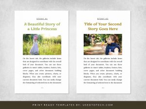 Free Best Looking Word Template for Writing Kids Books