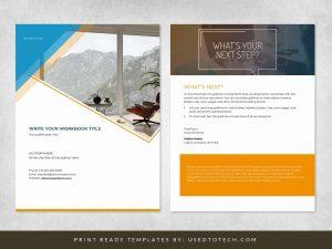 Free Awesome Looking Workbook Design in Microsoft Word